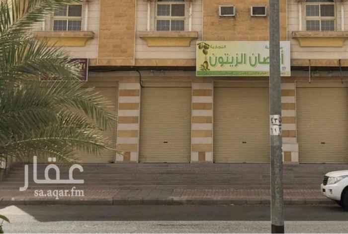 محل للإيجار في شارع محمد بن ابراهيم بن جناد ، حي بئر عثمان ، المدينة المنورة ، المدينة المنورة