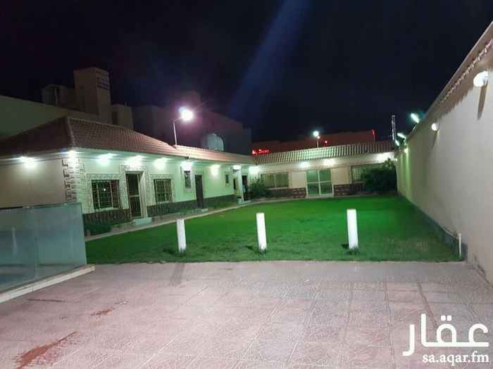 استراحة للإيجار في شارع الشيخ جابر الاحمد الصباح ، حي المعيزلة ، الرياض