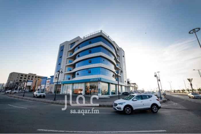 مكتب تجاري للإيجار في طريق الكورنيش ، حي الشاطيء ، جازان ، جزان