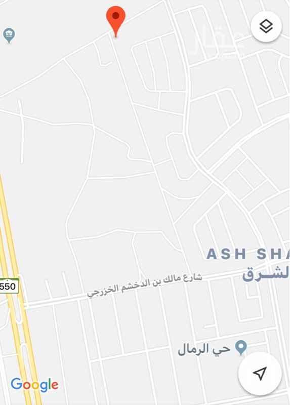 أرض للبيع في طريق الجنادرية ، حي الشرق ، الرياض ، رماح