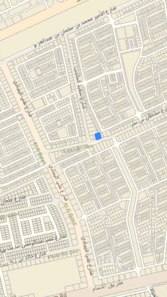 أرض للبيع في شارع سلطان بن نمر ، حي الرمال ، الرياض