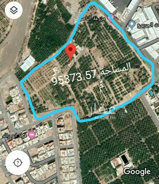 مزرعة للبيع في شارع حكيم بن طليق ، حي شظاة ، المدينة المنورة