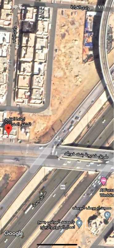 أرض للإيجار في شارع خديجة بنت خويلد ، حي طويق ، الرياض ، الرياض