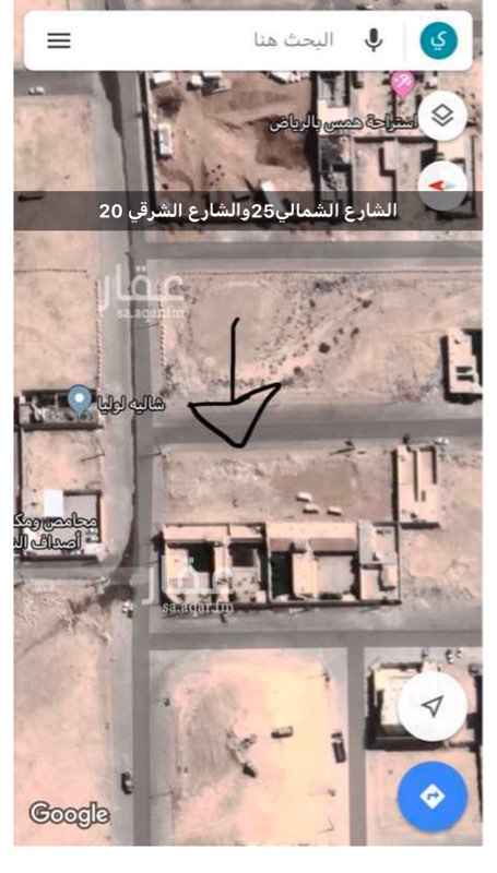 أرض للبيع في شارع مالك بن الدخشم الخزرجي ، الرياض ، رماح
