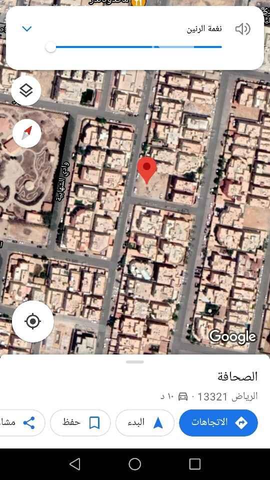 أرض للبيع في شارع النجمة ، حي الصحافة ، الرياض ، الرياض