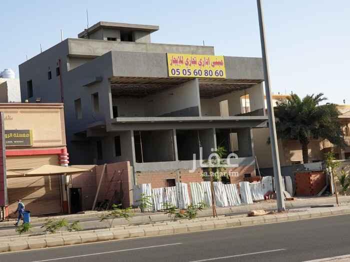 مكتب تجاري للإيجار في حي النهضة ، جدة ، جدة