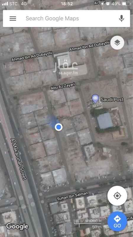 أرض للبيع في شارع ابو عثمان الخالدي, حي النزهة, جدة