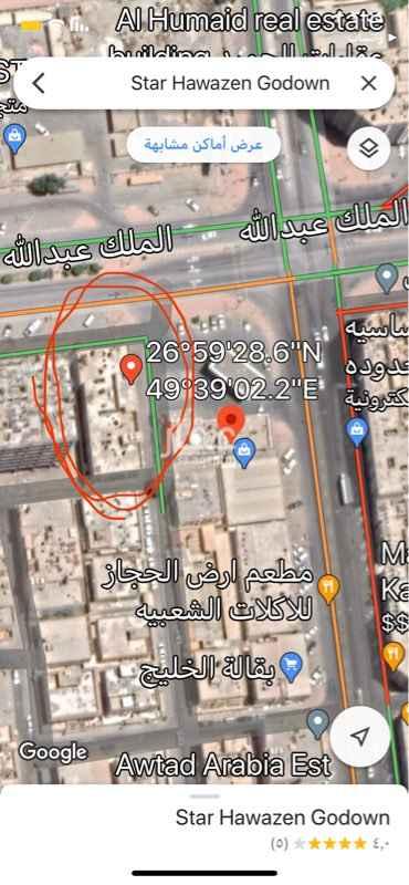 شقة للإيجار في شارع الملك عبدالله ، حي الجبيل البلد ، الجبيل ، الجبيل