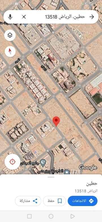 أرض للبيع في شارع الصيحان ، حي حطين ، الرياض ، الرياض