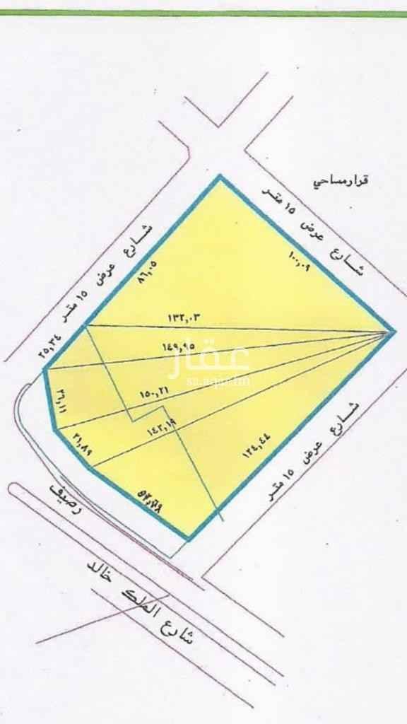 أرض للبيع في طريق الملك خالد ، حي الشرفية ، الرياض ، الرياض