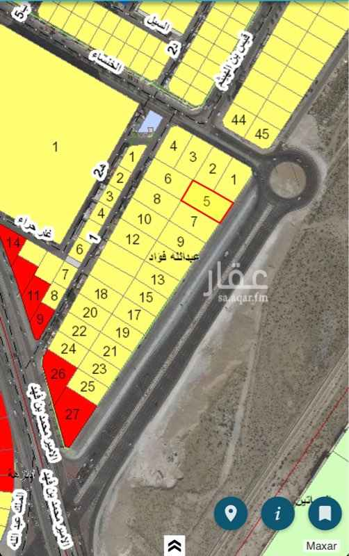أرض للبيع في حي عبدالله فؤاد ، الدمام ، الدمام