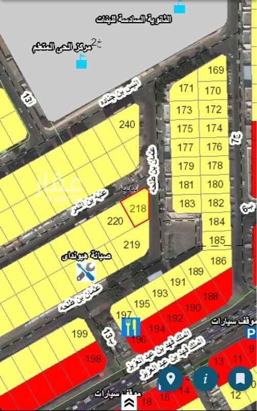 أرض للبيع في شارع عثمان بن طلحة ، حي البادية ، الدمام ، الدمام