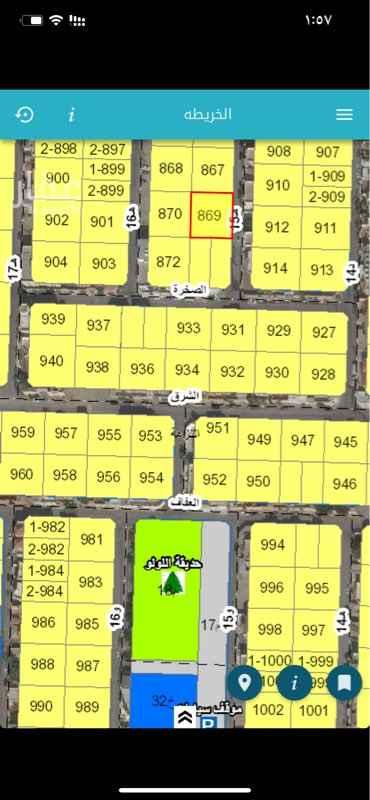 أرض للبيع في شارع 15 هـ ، حي النزهة ، الدمام ، الدمام