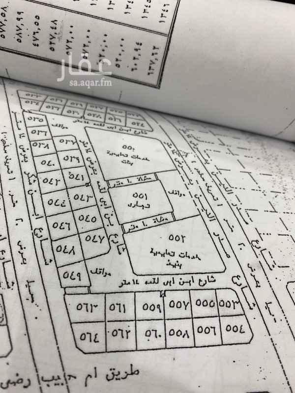 أرض للبيع في شارع عبدالله بن حسن بن حسن بن علي بن ابي طالب ، حي طيبة ، المدينة المنورة ، المدينة المنورة