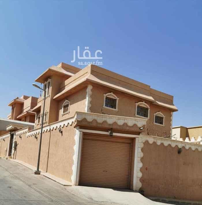 فيلا للإيجار في شارع عمارة بن حزم ، حي أم الحمام الغربي ، الرياض