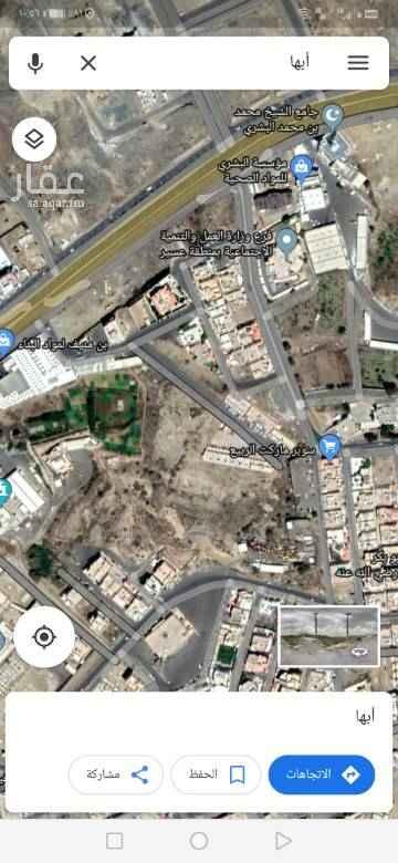 أرض للإيجار في حي المروج ، أبها