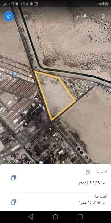 أرض للإيجار في شارع الجرخ ، حي المدينة الصناعية ، جدة