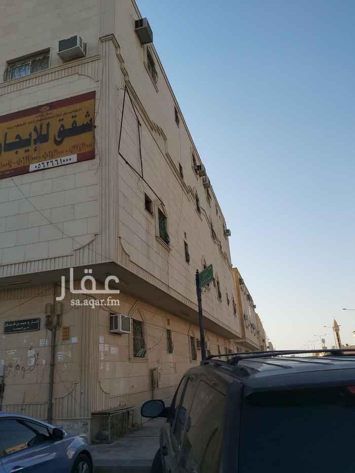 شقة للإيجار في شارع عباد الغفاري ، حي النهضة ، الرياض ، الرياض