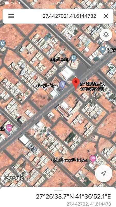 أرض للبيع في شارع الأمير سعود بن عبدالمحسن آل سعود ، حائل ، حائل