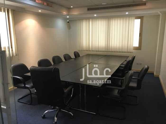 مكتب تجاري للإيجار في شارع بحر العرب ، حي الحمراء ، جدة