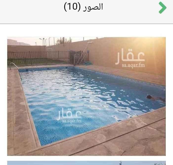 استراحة للبيع في طريق ديراب الفرعي ، حي الحزم ، الرياض