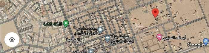 أرض للإيجار في حي الصالحية ، جدة ، جدة