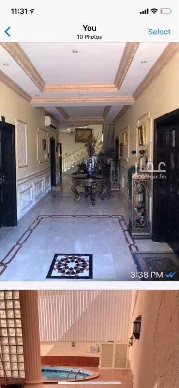 فيلا للبيع في شارع عثمان بن ابي شيبة ، حي النهضة ، جدة