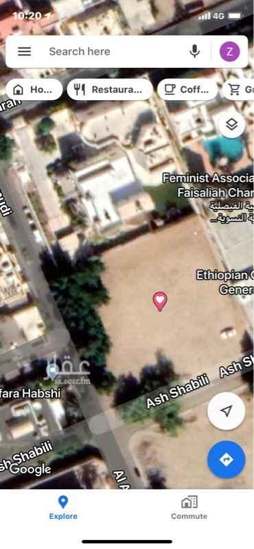 أرض للبيع في شارع الشبيلي ، حي الاندلس ، جدة