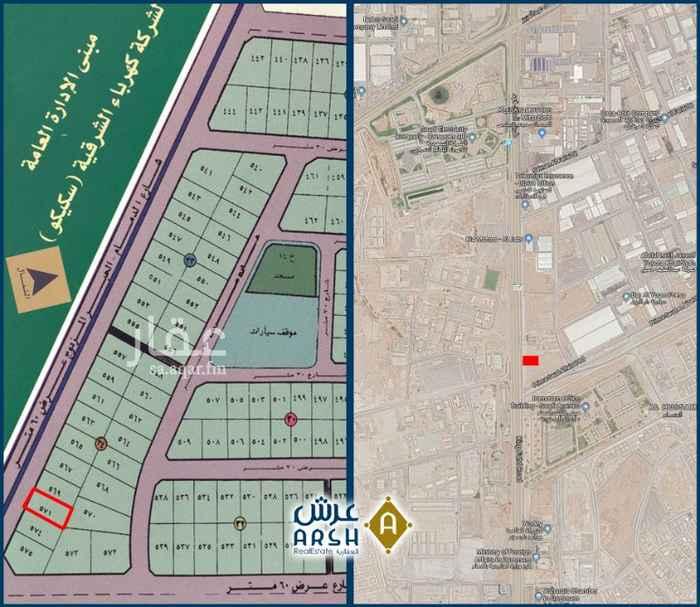 أرض للبيع في طريق الملك فهد بن عبد العزيز ، حي الخالدية الجنوبية ، الدمام ، الدمام