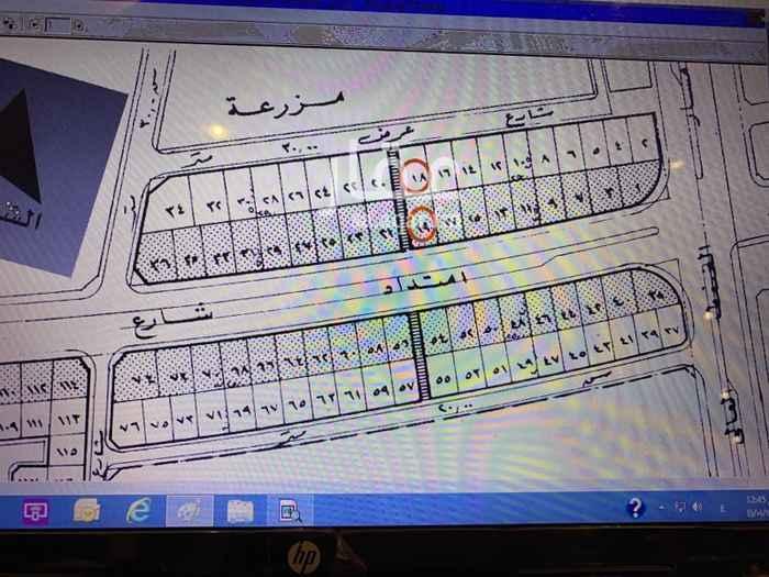 أرض للبيع في شارع الملك سعود ، حي النور ، الدمام