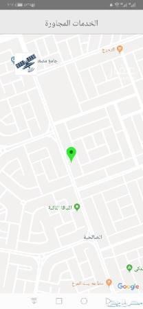 أرض للإيجار في جدة