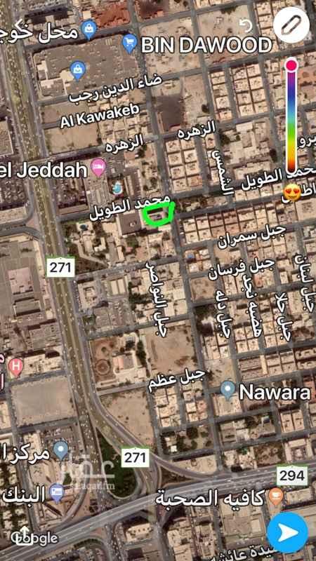أرض للبيع في شارع سعيد بن زقر, حي مشرفة, جدة