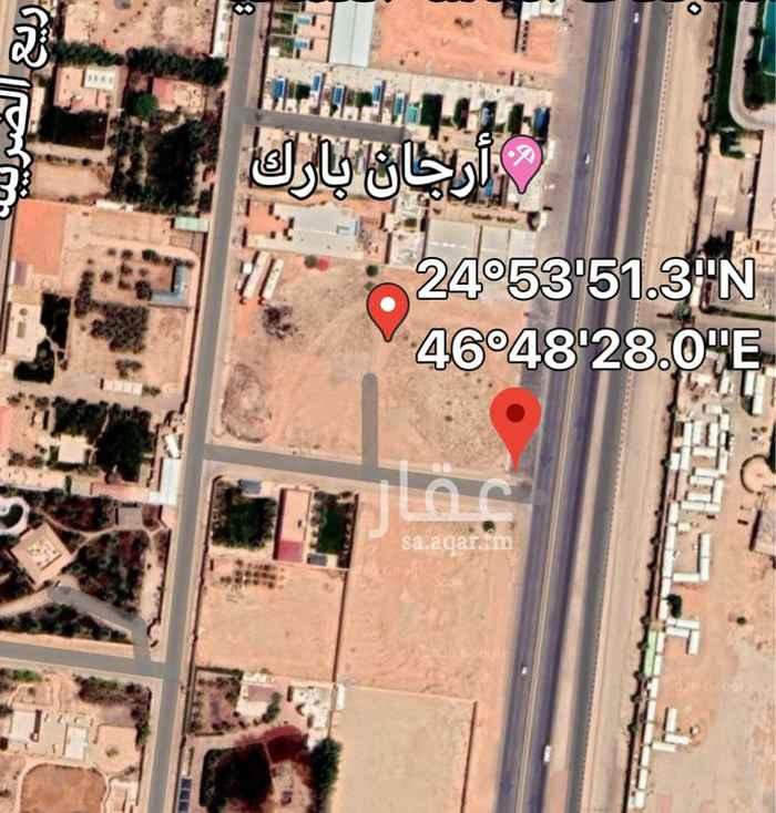 أرض للإيجار في طريق الثمامة ، حي مطار الملك خالد الدولي ، الرياض ، الرياض