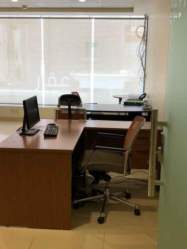 مكتب تجاري للإيجار في شارع حفص بن المغيره ، حي النعيم ، جدة