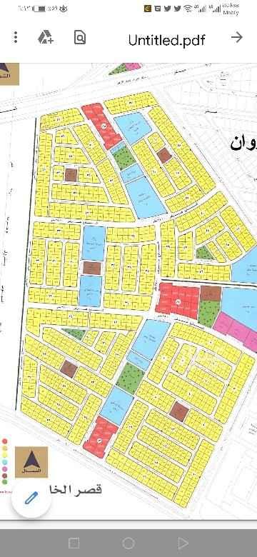 أرض للبيع في شارع مسار مشي حي المنتزه ، حي المنتزه ، الدمام ، الدمام