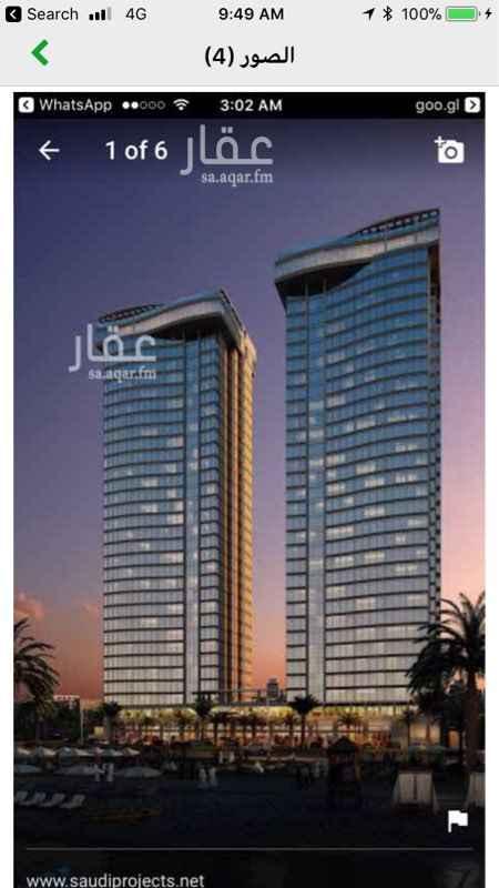 شقة للإيجار في طريق الملك عبدالعزيز, حي ابحر الجنوبية, جدة