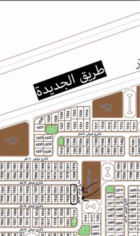 أرض للبيع في طريق الامير عبدالله بن مساعد ، عرعر