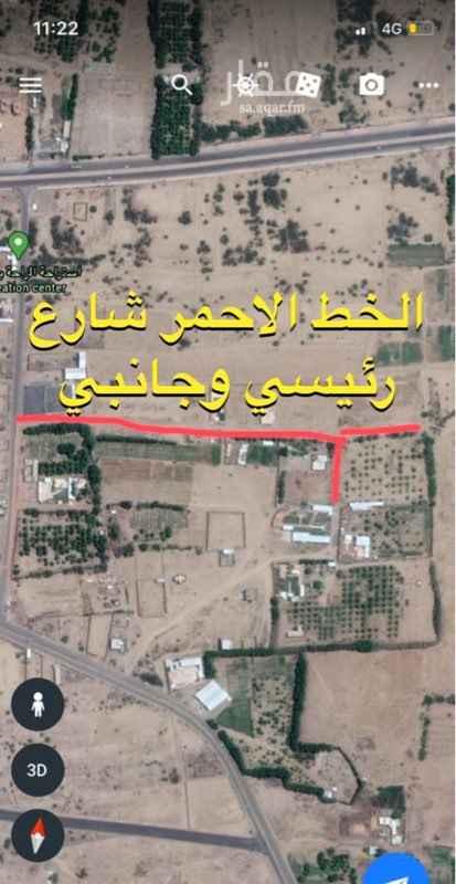 أرض للبيع في حي النهضة ، أبو عريش ، ابو عريش