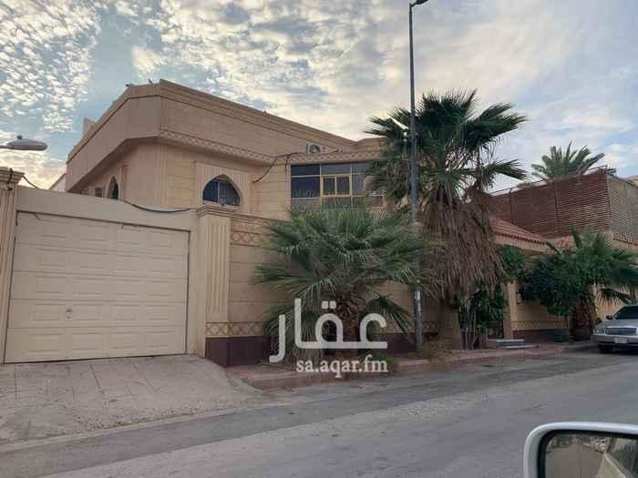 فيلا للبيع في شارع معاوية بن ابي سفيان ، حي ظهرة البديعة ، الرياض