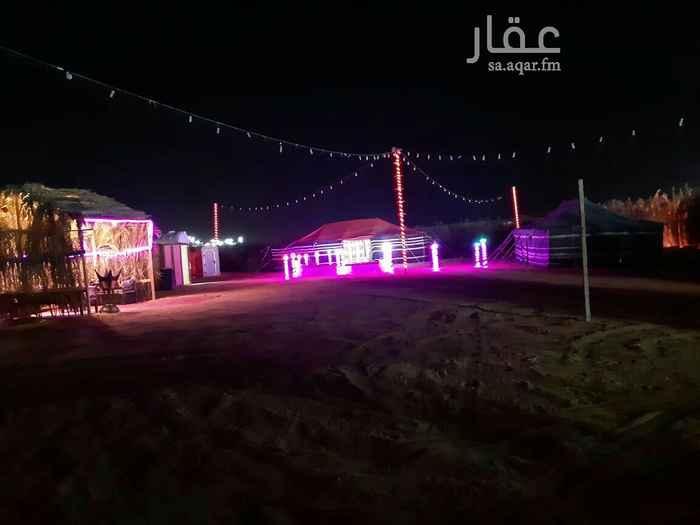 مخيم للإيجار في شارع عبدالحكيم الجمحي ، حي النسيم الغربي ، الرياض