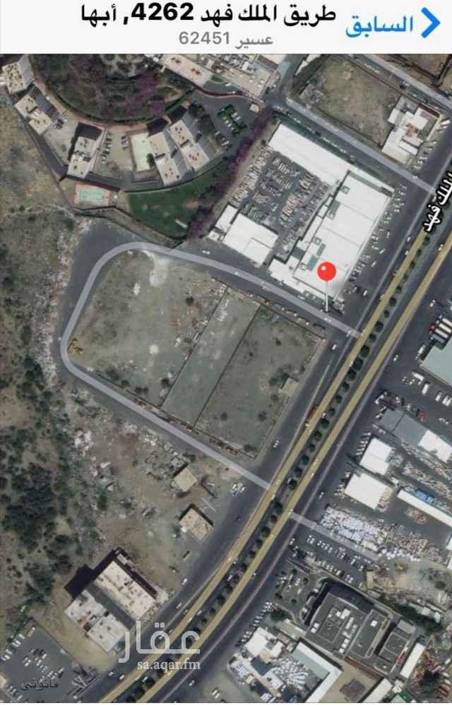 أرض للبيع في طريق الملك فهد ، حي حجله ، خميس مشيط ، أبهــــا