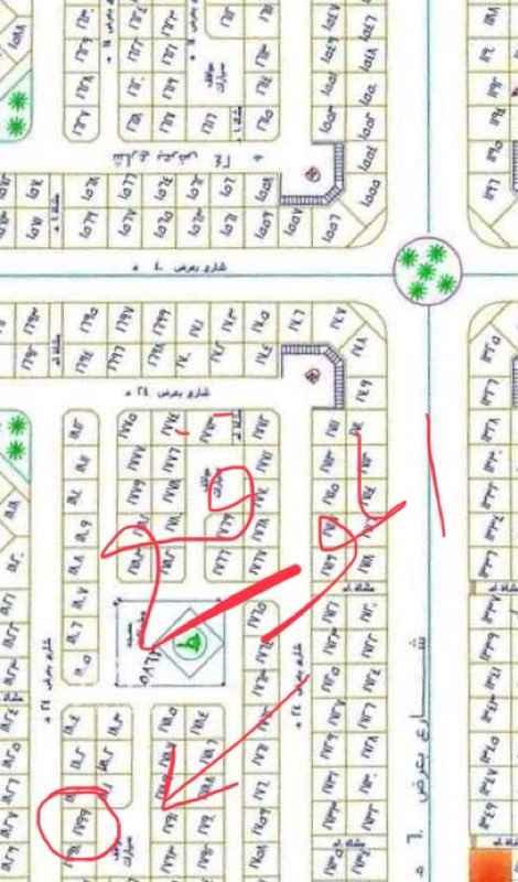 أرض للبيع في شارع الربيع بن خثيم الثوري ، حي الملك فهد ، المدينة المنورة