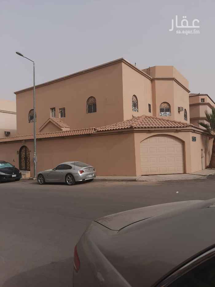فيلا للبيع في شارع وبرة ، حي العقيق ، الرياض ، الرياض