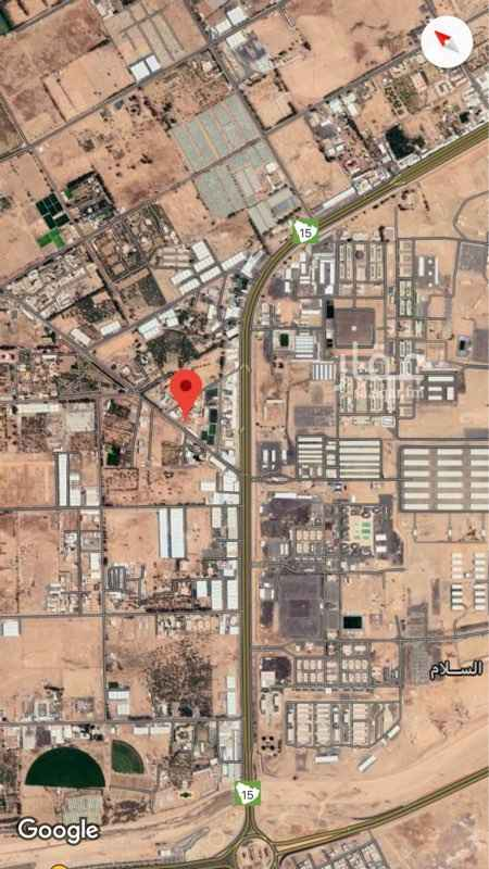 أرض للإيجار في حي منطقة الزراعية ، تبوك