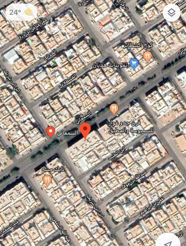 عمارة للبيع في شارع السمعاني ، حي الزهرة ، الرياض