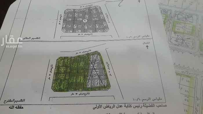 أرض للبيع في شارع البساتين ، حي الرمال ، الرياض