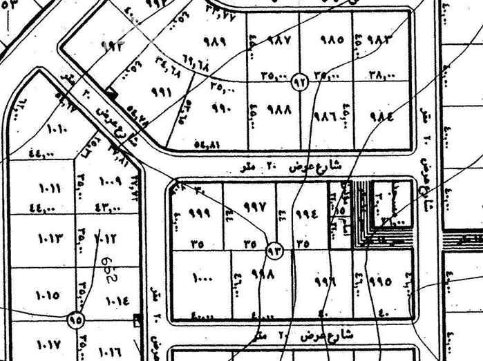 أرض للبيع في شارع رقم 169 ، الملقا ، الرياض