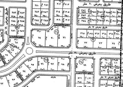 أرض للبيع في حديقة بوابة القيروان ، الرياض ، الرياض
