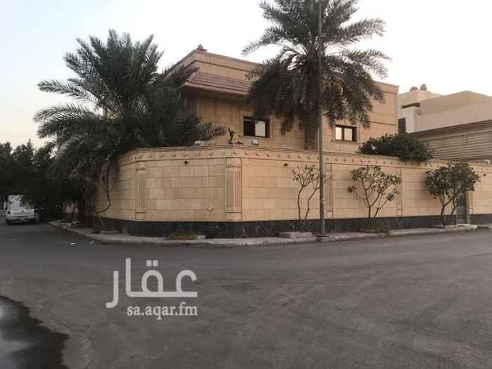 فيلا للإيجار في شارع اسماعيل بن مسلم ، حي الفيحاء ، الرياض ، الرياض