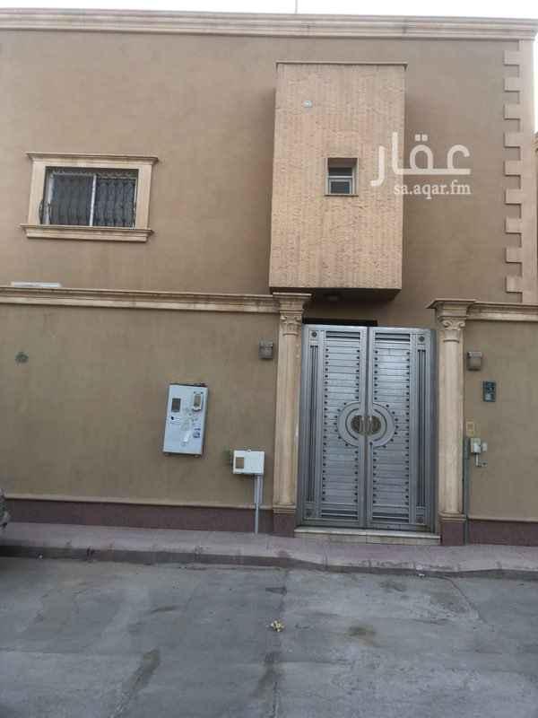 فيلا للإيجار في شارع الذروة ، حي الورود ، الرياض